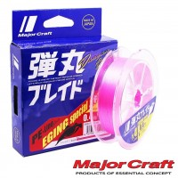 Шнур Major Craft Dangan Braid PE X4 150m pink #0.6 0.10mm/4.8kg