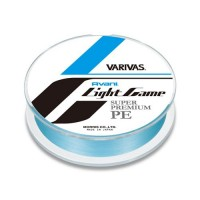 Шнур Varivas Avani Light Game Super Premium PE #0.4 blue 150m/0.104mm/3.6kg